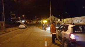 109 vehículos controlados por Tránsito Municipal este fin de semana