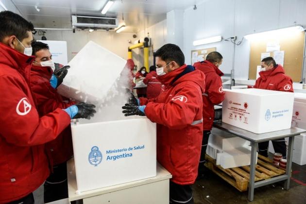La provincia recibirá 1.200 nuevas dosis de la vacuna Sputnik V para continuar con el plan de vacunación