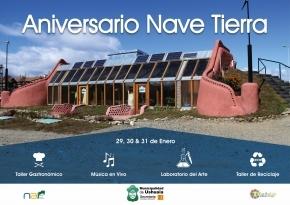 1er aniversario de Nave Tierra: Se realizará una demostración del Laboratorio de Arte