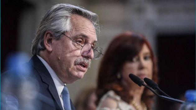 El presidente Alberto Fernández anunció que dio positivo de Covid19