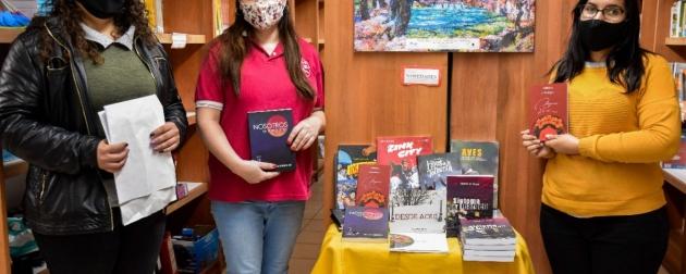 Se realizó la entrega de publicaciones de la Editora Cultural a las bibliotecas escolares de Río Grande