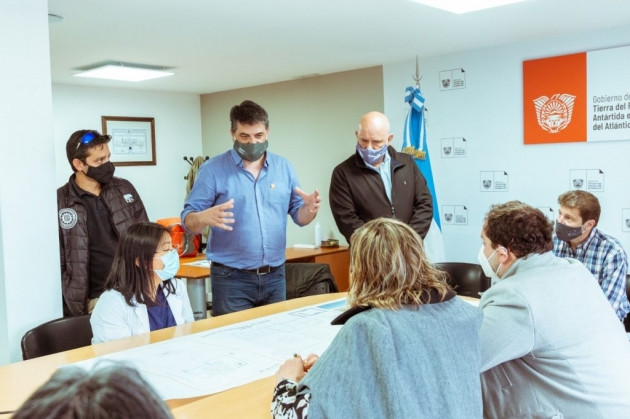 Melella anunció la construcción de un Centro de Medicina Nuclear y Radioterapia para Tierra del Fuego