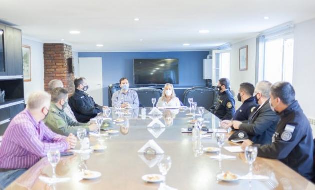 """Chapperón se reunió con el COE: """"La prioridad es la prevención y evitar las reuniones sociales privadas"""", sostuvo"""
