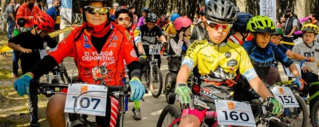 La Secretaría de Deportes organizó la primera competencia Infanto Juvenil de MTB en Ushuaia