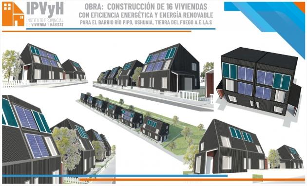 El IPVyH lanza el llamado a licitación para la construcción de viviendas autosustentables