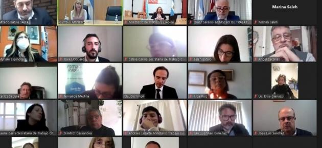 Tierra del Fuego participó de la presentación del Convenio 190 sobre la Eliminación de la Violencia y Acoso en el Mundo del Trabajo