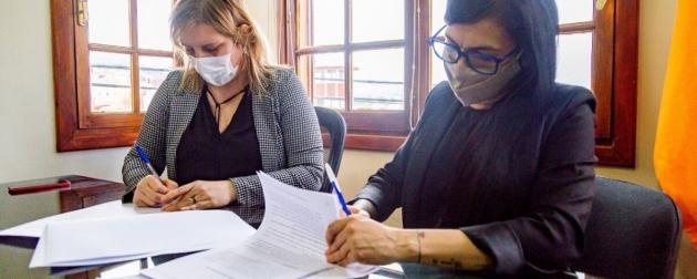 El Ministerio de Salud y OSEF firmaron un convenio de colaboración para potenciar el servicio de Odontología