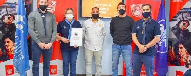 La Secretaría de Deporte y Juventud firmó un convenio con Scouts de Argentina Asociación Civil para el fomento de actividades