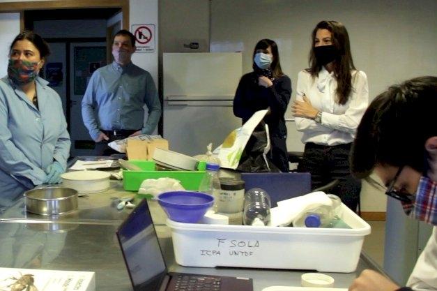La UNTDF y el Laboratorio del Fin del Mundo rubricaron un nuevo convenio de colaboración