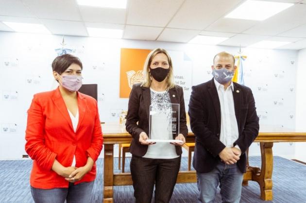 """Cubino afirmó """"Desde el Gobierno provincial tenemos la convicción de que en 2022 la Escuela antártica esté abierta"""""""