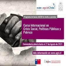 Está abierta la convocatoria para participar del II Curso Internacional, Crisis Social, Políticas Públicas y Pobreza