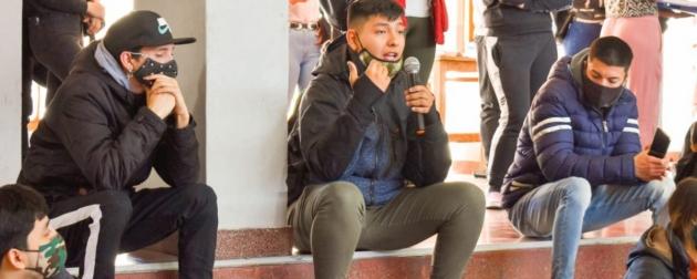 Se realizó un encuentro con jóvenes en el marco del Programa Desarrollando Emprendedores
