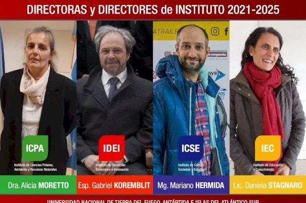 La UNTDF eligió a los nuevos directores de Institutos