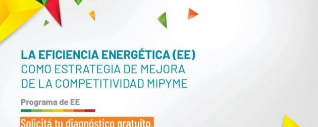 Desarrollo Productivo y PyMES convoca a participar de los diagnósticos gratuitos de Eficiencia Energética