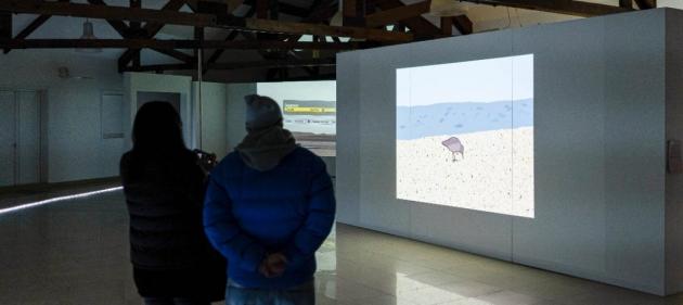 """""""Horizonte"""": Artistas locales presentan una experiencia de artes visuales y audiovisuales por el Centenario de Río Grande"""