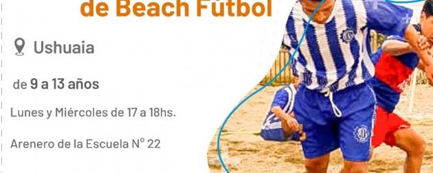 Este viernes a las 20:30 se realizará un nuevo encuentro de la Liga de Fútbol Playa en la cancha de arena de la Escuela N° 22 de Ushuaia