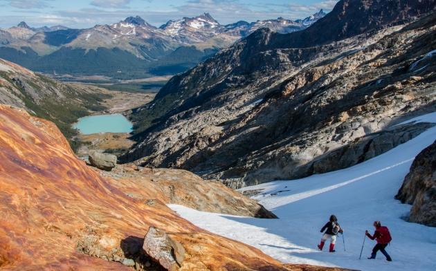 La justicia investiga la muerte de una turista en una excursión al Glaciar Ojo del Albino