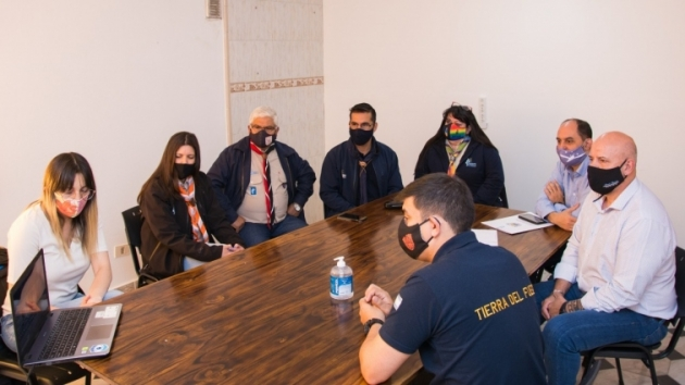Greve y Rivarola entregaron a agrupaciones Scout la declaración de interés de la labor que llevan a cabo