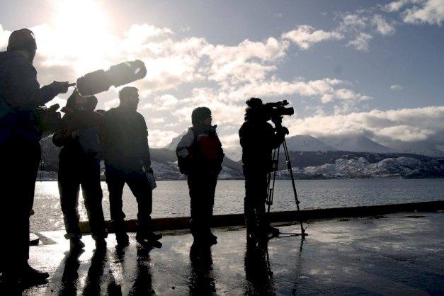 Equipo de la UNTDF realiza una investigación sobre el sector audiovisual en Tierra del Fuego