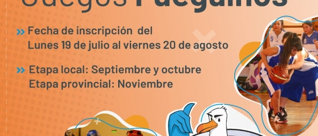El viernes 20 de agosto cierran las inscripciones para participar de los Juegos Deportivos Fueguinos 2021