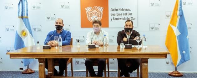 El Gobernador Melella encabezó el lanzamiento oficial de los Juegos Deportivos Fueguinos