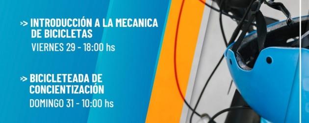 """Este fin de semana se realizará en Ushuaia la propuesta """"Juventudes en Bici"""""""