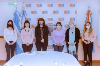 Especialistas en lactancia materna se reunieron con la vicegobernadora Urquiza