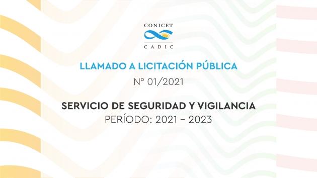Llaman a licitación para el servicio de seguridad y vigilancia en el CADIC