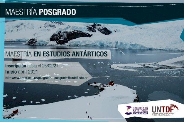 Comienza la inscripción a la primer Maestría en Estudios Antárticos de la UNTDF