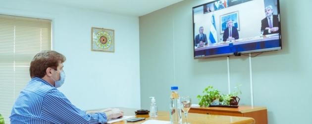 Melella participó de la reunión del Consejo Nacional de Asuntos Relativos a las Islas Malvinas