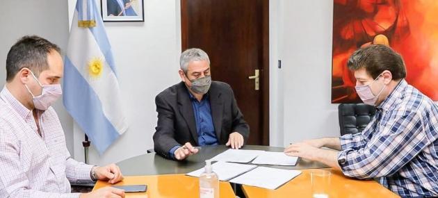 El Gobernador Melella anunció la construcción de 600 nuevas viviendas para la provincia
