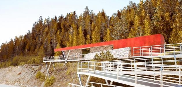 El INFUETUR avanza en la concreción de la obra Miradores Valles Fueguinos