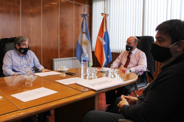 Muchnik se reunió con los titulares de las áreas de Administración e Infraestructura Judicial