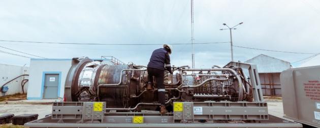 Se puso en marcha el nuevo motor en la turbina principal generadora de energía eléctrica para Río Grande