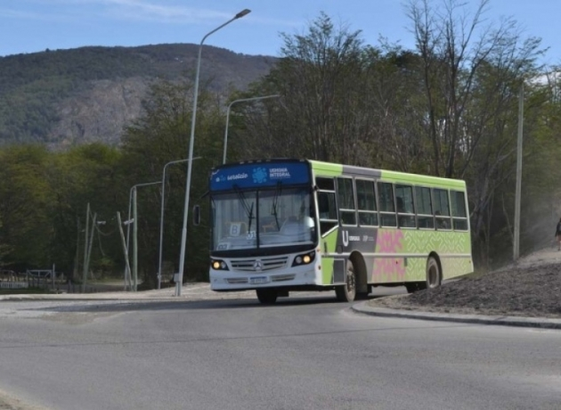 A partir de este lunes se modifican los recorridos de circulación de colectivos en Ushuaia