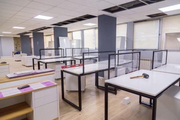 Obras Públicas habilitará la primera etapa de oficinas en Casa de Gobierno