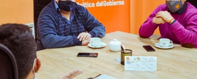 """Precios Fueguinos: """"La idea es llevar a los vecinos productos a precios promocionales a través de los comercios de barrio"""", sostuvo Chaparro"""