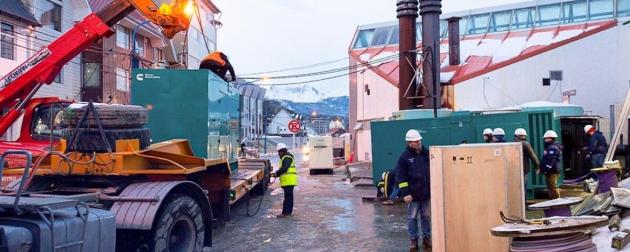 Gobierno avanza con los trabajos de reconexión de los distintos servicios en el Hospital Regional Ushuaia