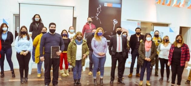 Gobierno realizó un encuentro con referentes barriales en el marco del centenario de Río Grande