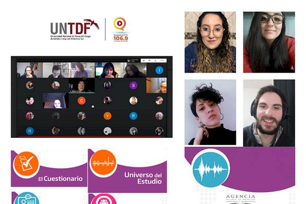 Estudiantes de la UNTDF participan de un relevamiento nacional de medios radiales en contexto de pandemia