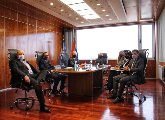 Autoridades del Superior Tribunal de Justicia se reunieron con referentes de la Asociación de Magistrados y Funcionarios