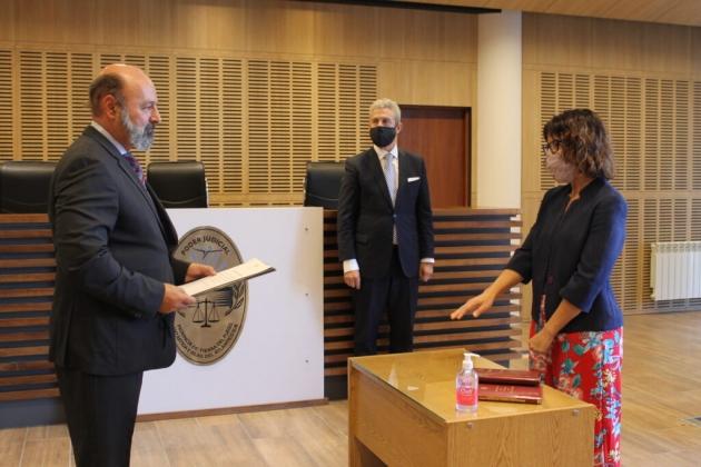 Juraron los abogados relatores del juez Ernesto Löffler