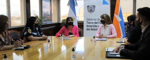 La Secretaria de Empleo y Formación Laboral mantuvo una reunión con la secretaria de la Mujer del Sindicato de Obreros Marítimos
