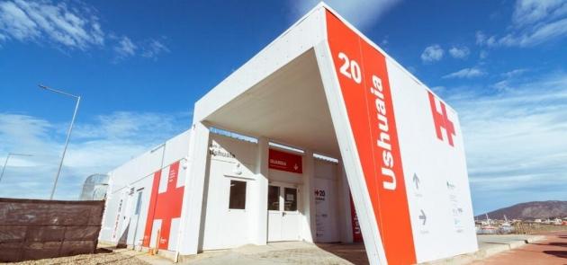 El Servicio de Laboratorio del Hospital Regional Ushuaia atenderá en el Centro Modular