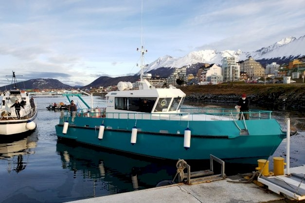 """""""El Barco Shenu contribuirá a profundizar la investigación marina en nuestra región en el marco de los objetivos del Programa Pampa Azul"""""""