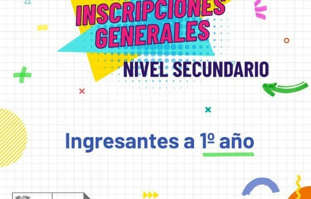 El sorteo general de ingresantes a 1er Año del Nivel Secundario será de manera virtual