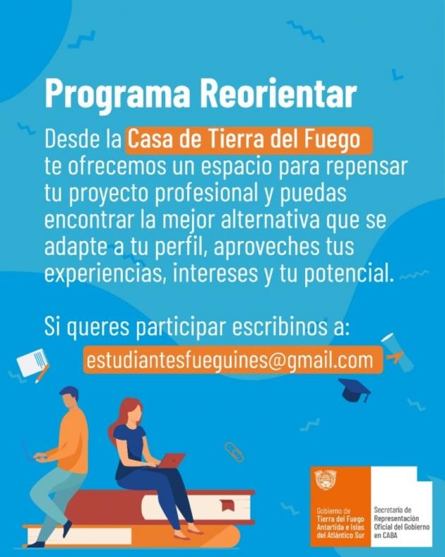 Casa Tierra del Fuego en Ciudad de Buenos Aires lanzó un taller para estudiantes fueguinos