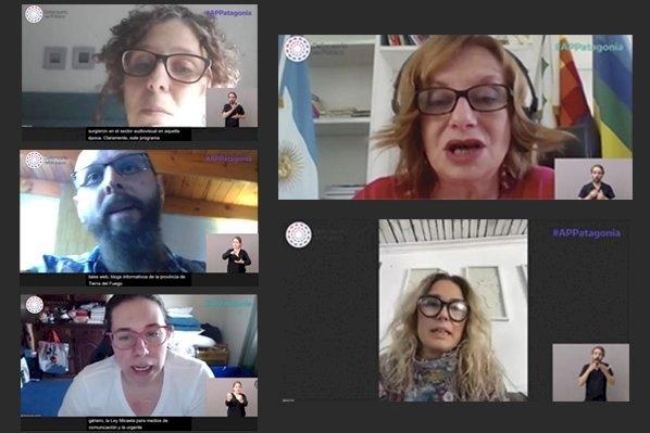 Integrantes de la UNTDF participaron de la tercera audiencia pública convocada por la Defensoría del Público
