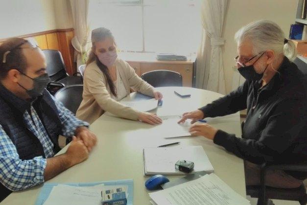 La UNTDF y la Secretaría de Hidrocarburos de la Provincia inician acciones de cooperación