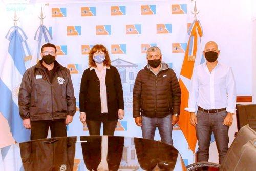 Urquiza y Villegas se reunieron con representantes del Centro de Patrones y Oficiales Fluviales, de Pesca y Cabotaje Marítimo
